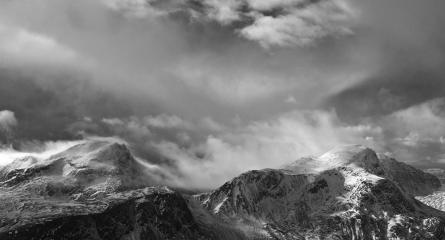 An Ruadh-Stac and Maol Chean-dearg from Fuar Tholl, NW Highlands