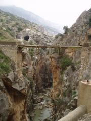 now cross the bridge