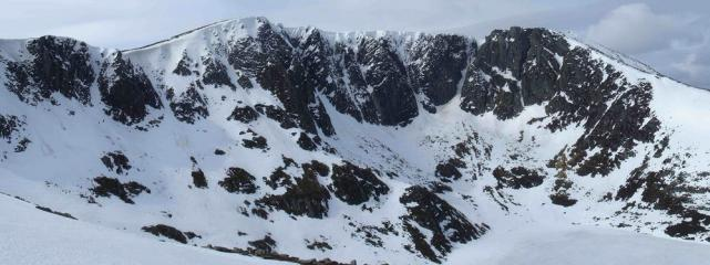 Lochnagar photo North East Corrie(composite)