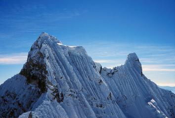 Andean Snow Flutings, Chacraraju.