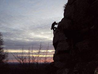 Last solo before dark