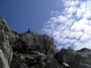 MMC climbing at Holyhead Mountain