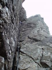 King's Chimney, Cuillin Ridge