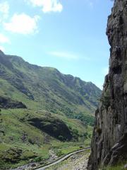 Unkown climber on Clogwyn y Grochan,  June 2010