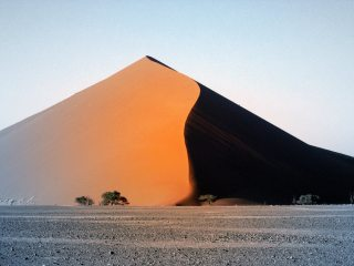Wind sculpted perfection, Namibia