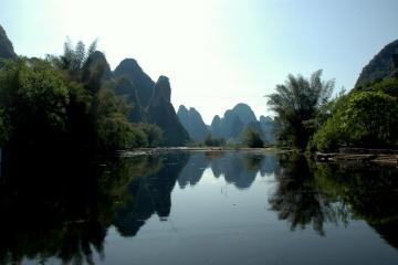 Yangshuo scenery.