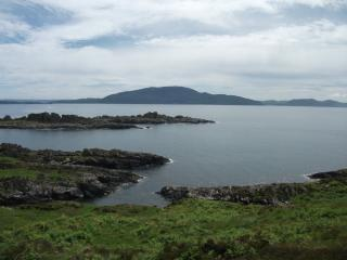 Scarba from the Garvellach islands