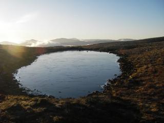 Near Arkle in the far north