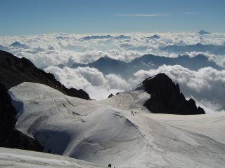 View from the summit - Pelvoux
