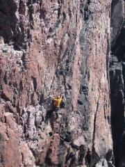 Unknown, Bloodlust Direct E2 5b, Sheigra Sea Cliffs