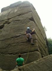 Took alot of Yorkshire Grit to get to top of here!
