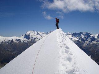 Descending Zinal Rothorn