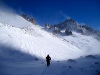 Col de Tour Noir ski tour