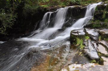 Near Blaen Caerfanell No3, (Torpantau Waterfall). Sept 2010