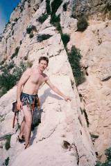 Mark on the Ridge - Wearing VERY short shorts