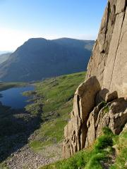 Chasm Face, Glyder Fach, North Wales.