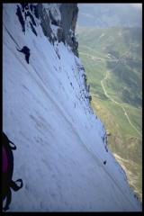 38 route, 2nd Ice Field, Eiger North Face