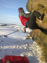 Almscliff............ winter
