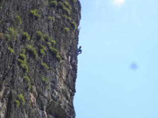 One of the best routes in the world including Limestone with razor like friction.