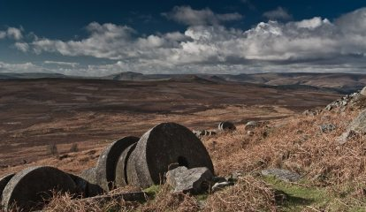 Millstones at High Neb