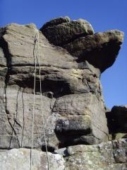 Zoot Root on Parsons Nose Buttress (4m VD **)