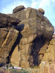 Sculptured Wall (8m E1 5a)