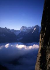 Valle Blanche and the Grand Jorasses