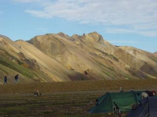 landmannalaugar campsite- iceland