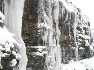 practice ice. Robin Hood's Bay