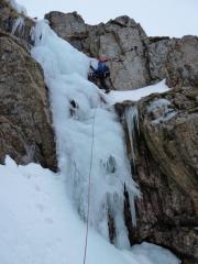Upper Icefall fininsh - Jan 2011