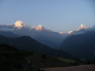 The Annapurna Himalayan Range