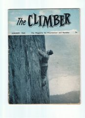 Climber front cover