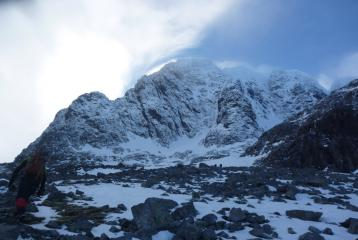 North East Buttress in profile