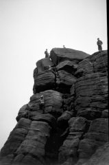 Mystery buttress, Widupp, Burnley Caving club 1950s