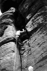 Cave Crack, Widdop, Burnley Caving Club 1950s