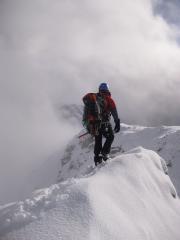 aonach Eagach Ridge Feb 12th 2011