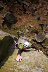 Mark Watson, Profit of Doom, E4 6b, Curbar