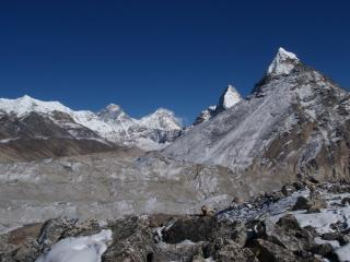 Everest from Gokyo 5th Lake