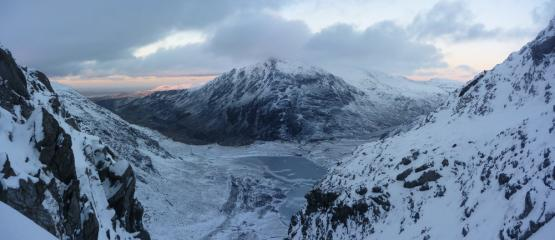 Cwm Idwal From South Gully