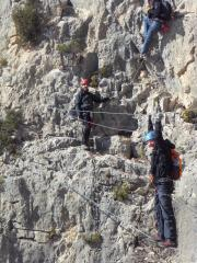 NRC on the The Castle of Salvatierra Via Ferrata