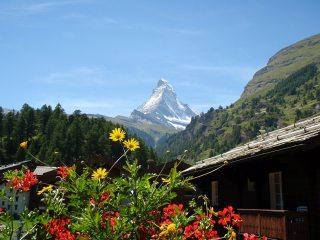 Matterhorn from Zermatt