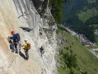 'Wire Guided' above Zermatt