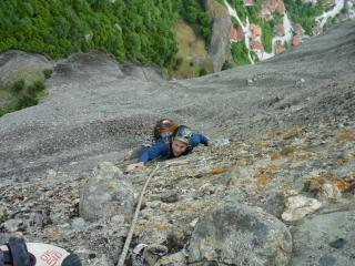 5th pitch. Steep but juggy finale.