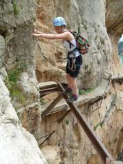 On the Caminito del Rey, The Gorge, El Chorro