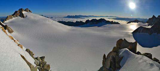 Sunrise from the Tete Blanche