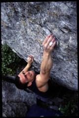 Jimbo Kimber on The Terminator, Boulderfield, Cuttings