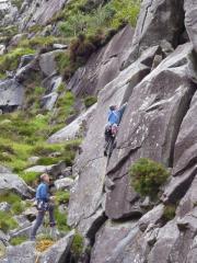 last climb of the day