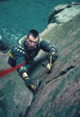 Dan Purkis - Getting ready for Lochnagar before dry tooling was dry tooling.