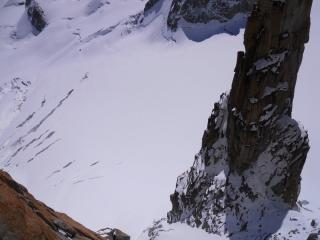 looking down from swiss direct