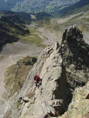 'The loneliness of a multi-pitch belay'
